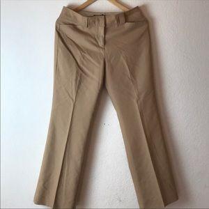 Express Stretch Dress Trousers Pants Tan Size 5/6